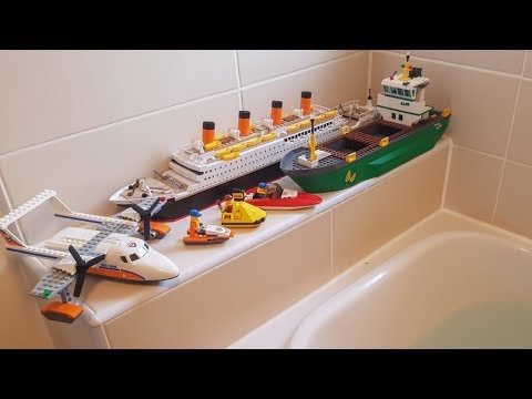 DO LEGO BOATS FLOAT 3 ???
