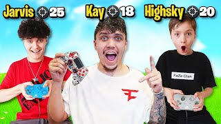 """Most Kills Wins $50,000"" (FaZe H1ghSky1 vs FaZe Jarvis Vs FaZe Kay)"
