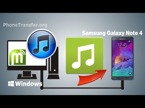 [iTunes Music to Samsung Note 4]: How to Sync Music / Playlist from iTunes to Samsung Galaxy Note 4