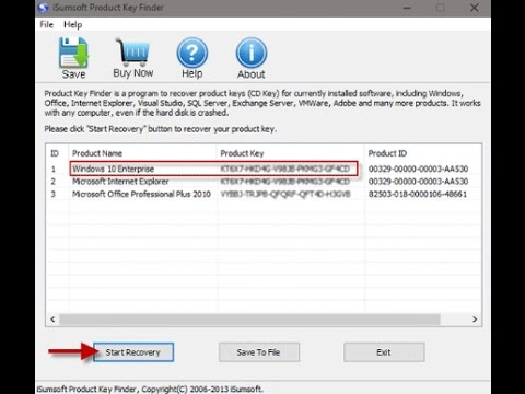 How to Find Product Keys for Installed Software on Windows 7, 8, 10