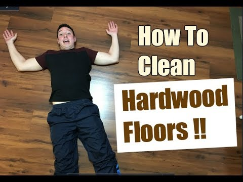 How To Clean Hardwood Floors | Cleaning Tutorial