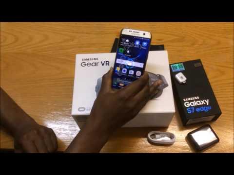 Galaxy S7 Edge Unboxing