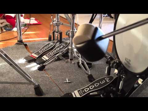 DW 3000 Double Bass Drum Pedal