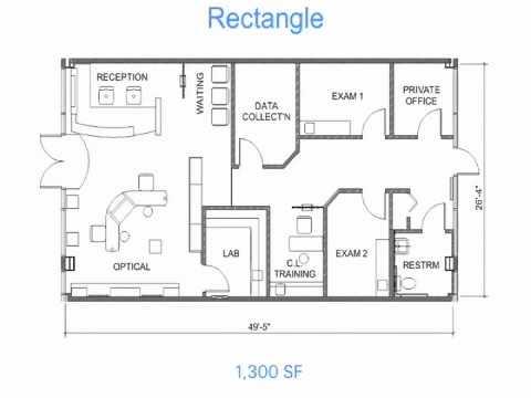 Optical Office Design Secrets #1 - Floor Plan Layouts
