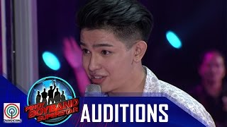 """Download Pinoy Boyband Superstar Judges' Auditions: Joao Constancia – """"Grow Old With You"""" Video"""