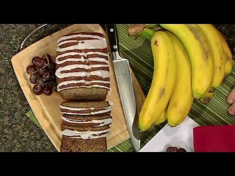 Using Old Frozen Bananas to Make Banana Bread | Real Life At Home