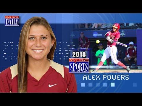 Alex Powers: 2018 Space Coast Sports Hall of Fame