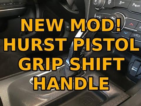 Hurst Billet Pistol Grip shift handle for Charger/Challenger 8 speed