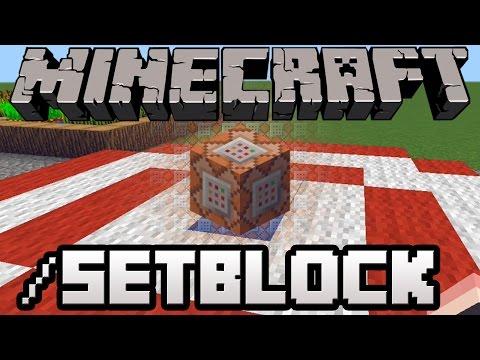 /setblock Command Tutorial and Wireless Redstone [Minecraft 1.8]