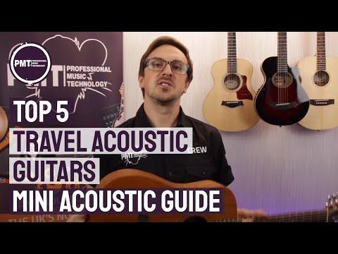 Top 5 Travel Acoustic Guitars -  A Mini Acoustic Guitar Guide