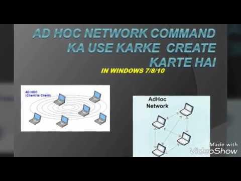 How to Create Wireless AdHoc Network in Windows 8