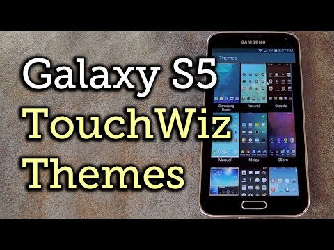 Theme the Stock TouchWiz Launcher on Your Samsung Galaxy S5 [How-To]