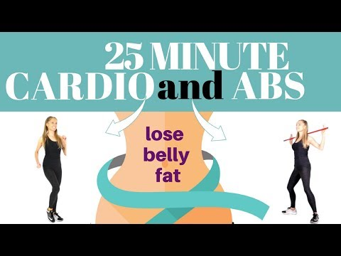 25 MINUTE 🏡 HOME CARDIO CALORIE BURNING 🔥 WORKOUT  TO LOSE BELLY FAT - SUITS EVERY FITNESS LEVEL