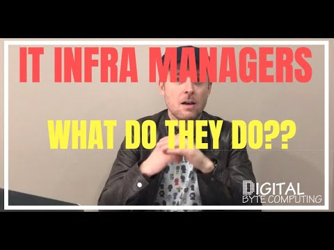 What does an IT Infrastructure Manager do?