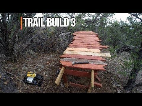 Mountain bike trail building |Bike Park part 3|