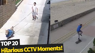 Download 20 Hilarious Moments Caught on Security Cameras Video