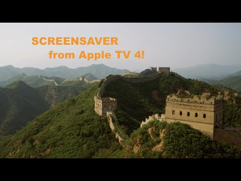 How get Apple TV 4 Aerial Screensaver on Windows and Mac!