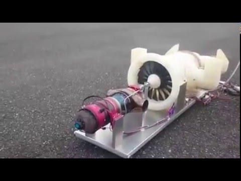 R/C Kingtech Turbofan Turbine Model Jet Engine