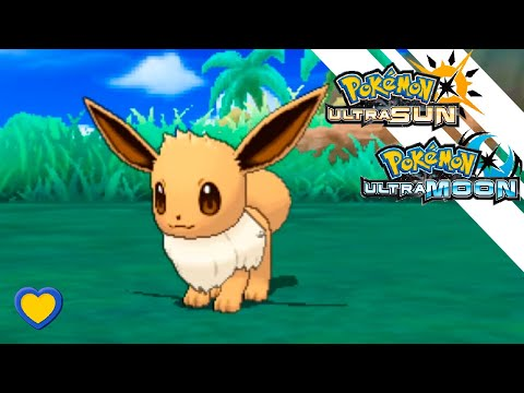 HOW TO GET Eevee in Pokemon Ultra Sun and Moon
