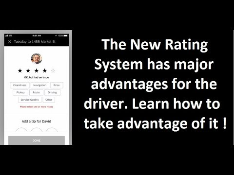 The New Uber rating system. Use it to your advantage. 180 days of change