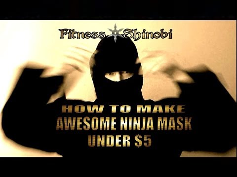 How To Make Your Own Balaclava / Portable Ninja Mask