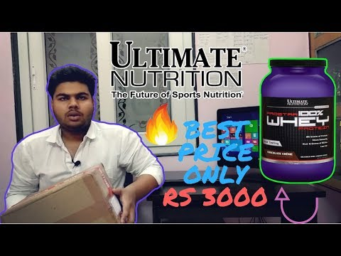 🔥 SOMETHING DEAL BREAKING | 💪 ULTIMATE NUTRITION PROSTAR WHEY PROTEIN