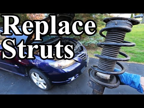How to Replace Struts in your Car or Truck