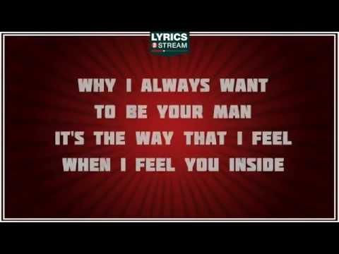when i am your man lyrics