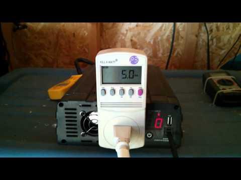 Off grid running washer machine