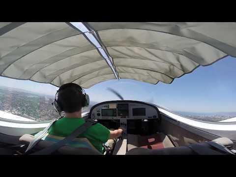 Sport Pilot solo checkride practice