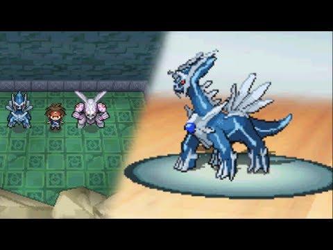 Pokémon Black 2 / White 2: Legendary Dialga Encounter (Hack)