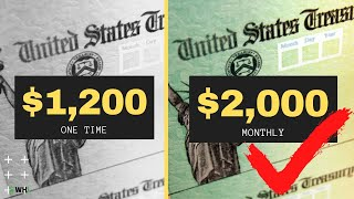 The $1,200 Stimulus Check vs $2,000 Payment | 4 Key Differences