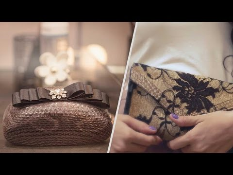 DIY Clutch - How to Make Clutch Purse At Home - 2 Styles - Glamrs