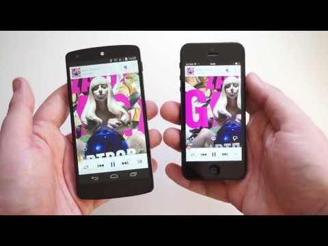 Google Play Music for iOS.