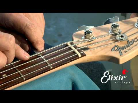 Setting Up Your Bass Guitar: Nut Action Height Adjustment  (Step 3 of 4)