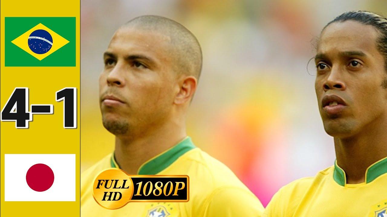 [1080p] 일본의 마지막 남은 희망을 꺾은 브라질 I 브라질 vs 일본 경기 하이라이트 - 2006/06/22