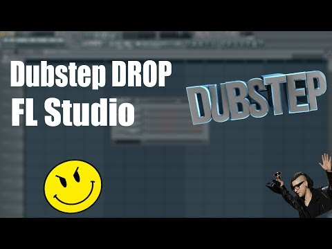Dubstep DROP in Fl studio How to make Hard DUBSTEP using Serum Vst