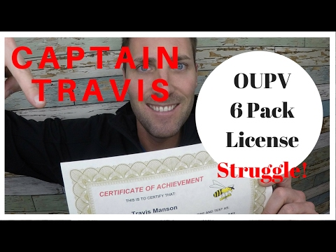 MY STRUGGLE getting my Captains License.Taking the USCG OUPV 6 Pack Test