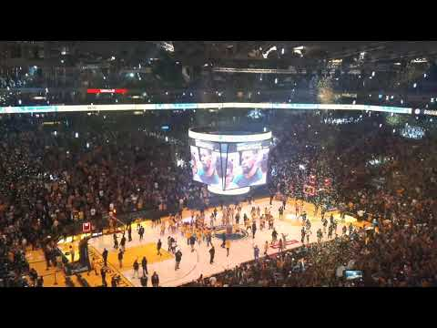 Golden State Warriors 2018 Watch Party Championship Celebration at Oracle Arena