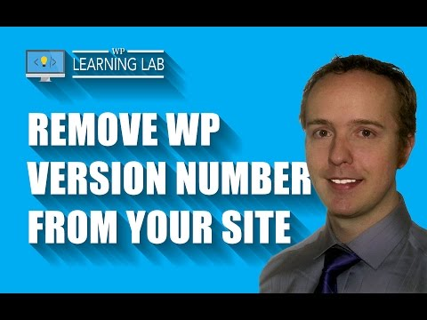How To Remove The WordPress Version Number From Your Site  - Hacker Proofing | WP Learning Lab