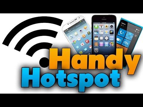 Handy als WLAN-Hotspot einrichten (Tutorial)