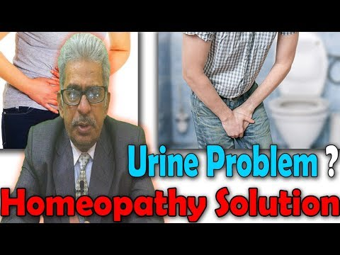 Types of Urine Problem and its Homeopathy Medicine - Dr P.S Tiwari