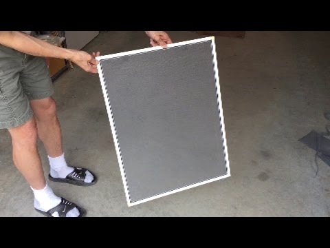 Tutorial: How to Change A Window Screen