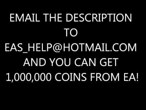 FIFA 13 ULTIMATE TEAM FREE COIN HACK (UP TO 1,000,000 COINS!)