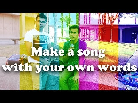 Make a song with your own words
