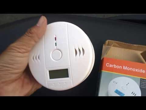 Home security CO Gas Sensor Carbon Monoxide Poisoning Alarm Detector