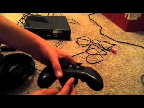 How to hook up turtle beach x12 to xbox 360
