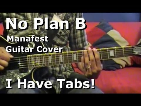 No Plan B by Manafest - Lead Guitar Cover (I Have Tab)