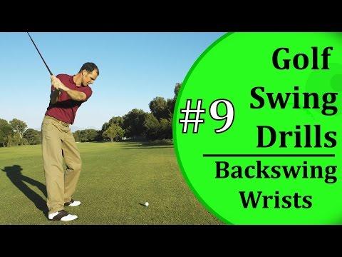 Basic Golf Swing Drills - #9: Back Swing Wrist Control | Learn-To-Golf.com
