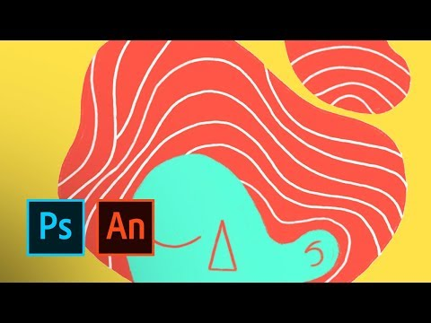 Emilie Muszczak Creates an Animated Self Portrait in Photoshop and Animate | Adobe Creative Cloud